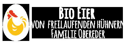 Bio Eier von freilaufenden Hühnern